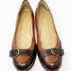 Naturalizer, Brown/Cognac Loafers Size 8.5 (581)